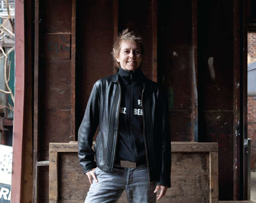 Lise - Lauren Howes purveyor of media art  executive director Canadian Filmmakers Distribution Centre